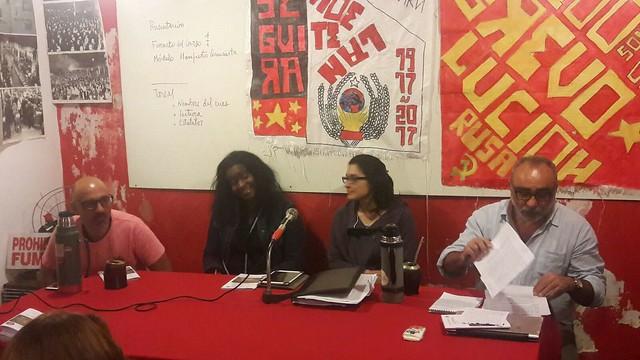 La Juventud comunista en el centenario de la revolución bolchevique