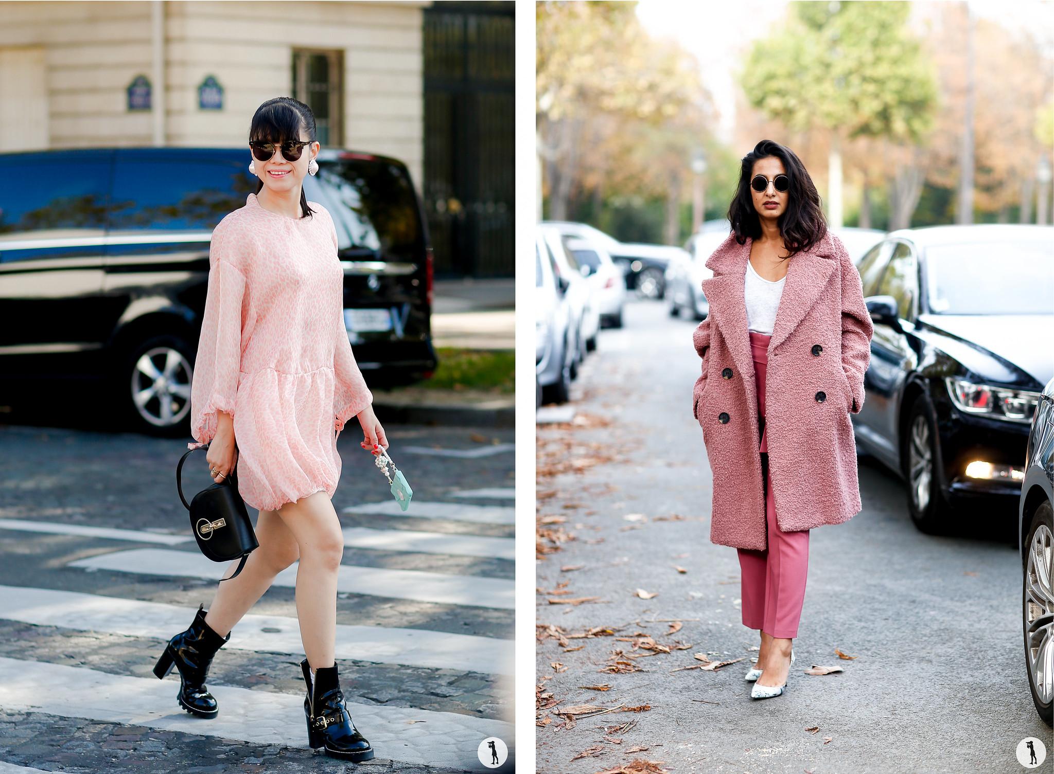Leaf Greaner and Nausheen Shah - Paris Fashion Week SS18