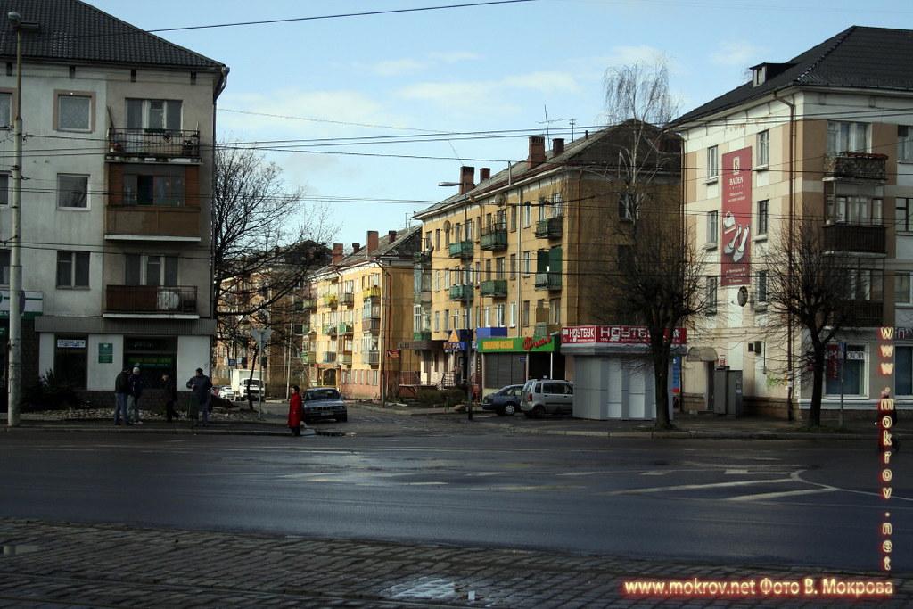 Ленинский проспект в Калининграде.