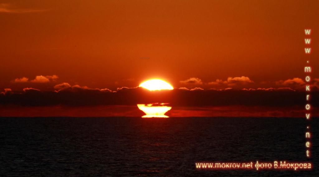 Город Анапа фотографии заката,