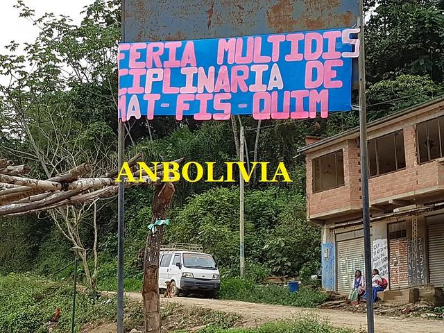 ESTUDIANTES DE COLEGIO PEDRO DOMINGO MURILLO DE LA ASUNTA, YUNGAS, REALIZAN LA III FERIA EDUCATIVA