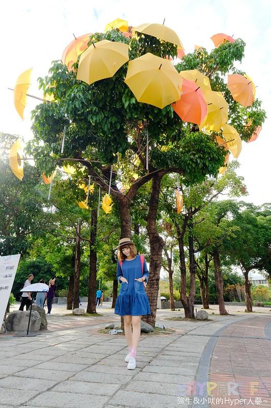 傘亮花博閃耀臺中屯區藝術中心裝置藝術展 (11)