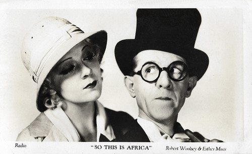 Robert Woolsey and Esther Muir in So This Is Africa (1933)