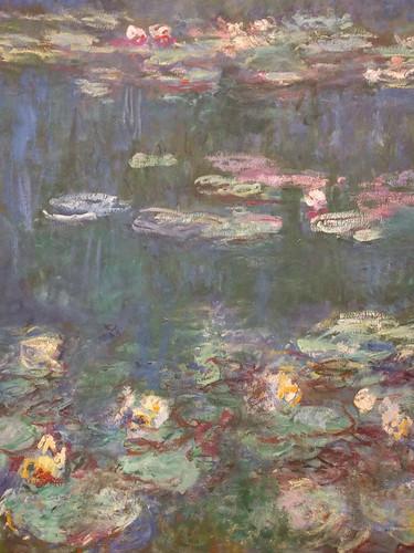 Monet water lilies @ Musée de l'Orangerie