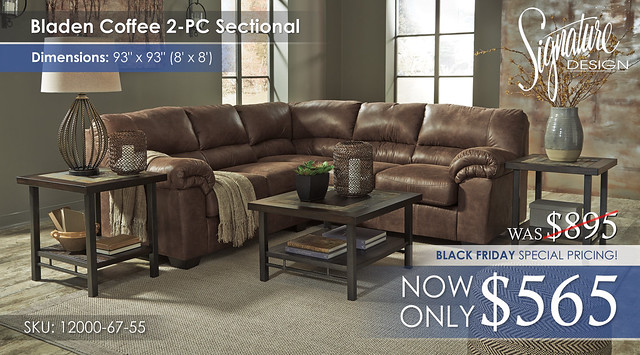 Bladen 2PC Sectional 12000-55-67-T053 BF Special