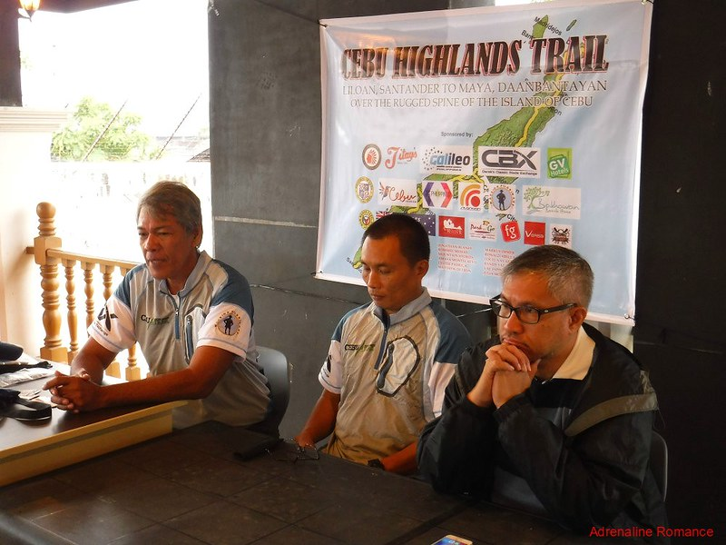 Cebu Highlands Trail Press Conference