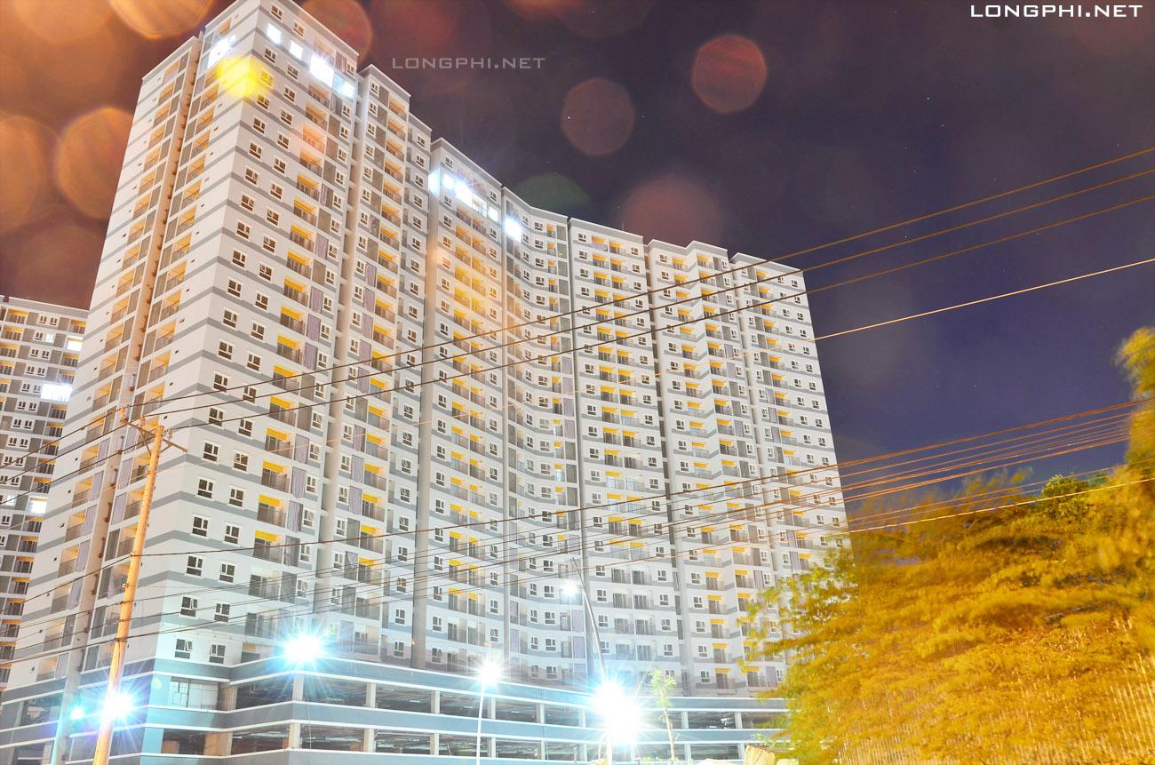 Mặt ngoài tháp Bắc M1 - Jamona Apartment - Luxury Home 15/11/2017.