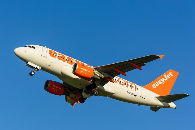 G-EZBD | easyJet | Airbus A319-111