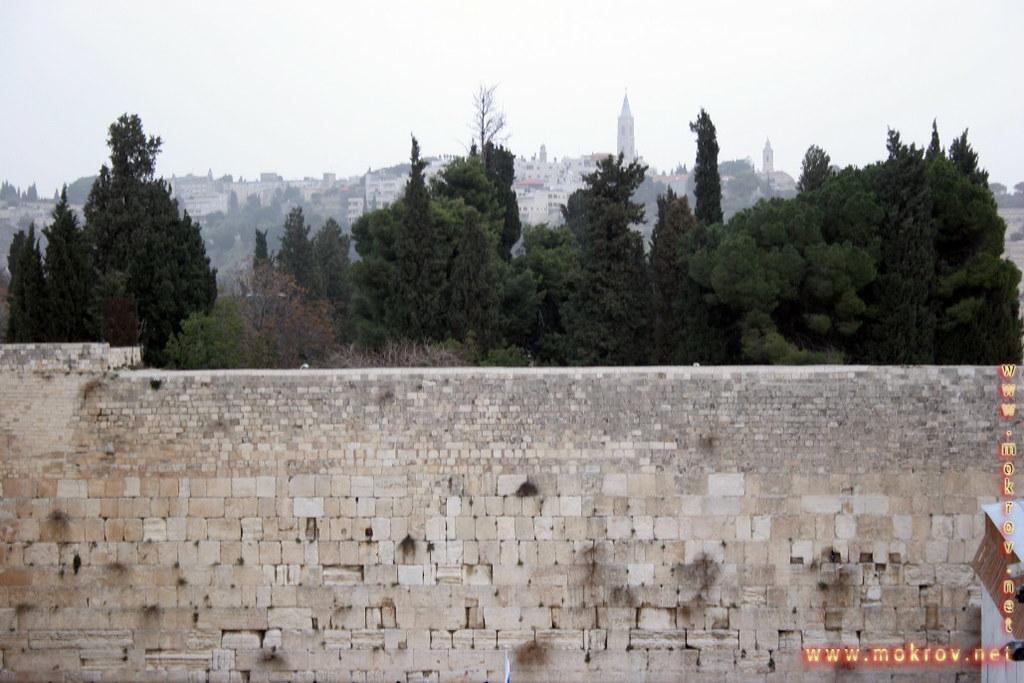 Город Иерусалим с фотокамерой прогулки туристов
