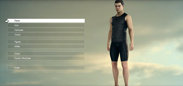 Final Fantasy XV - Comrades Character Creation