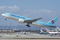 HL8043 - Korean Air Cargo - Boeing 777F