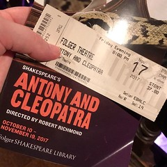 Here we go! @antonyandcleopatra