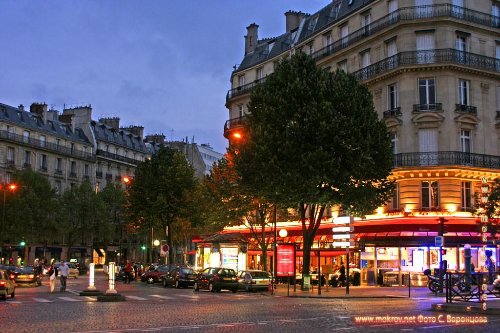 Париж фотографии сделанные как днем, так и вечером