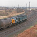 40006 Glazebrook East Junction 21st January 1983.