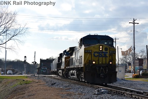 CSX Q029 hammers through Stevenson, AL