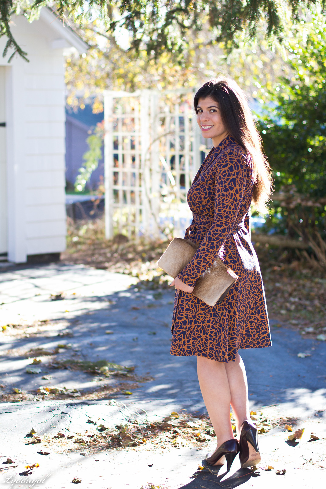 printed wrap dress, springbok clutch, thanksgiving outfit-15.jpg