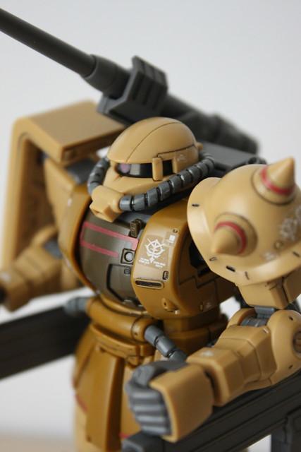 [HGGTO] MS-06CK ZAKU HALF CANNON