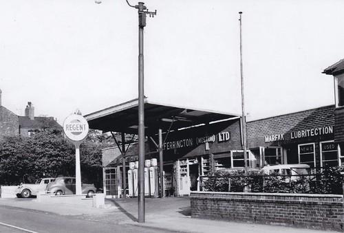 Regent - J Ferrington Ltd, Moston 1950's