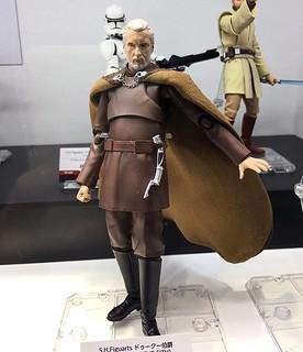 狡猾沉著的謀略家!!S.H.Figuarts《星際大戰三部曲:西斯大帝的復仇》杜庫伯爵 Count Dooku 試作樣品公開!!