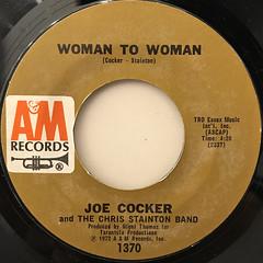 JOE COCKER:WOMAN TO WOMAN(LABEL SIDE-A)