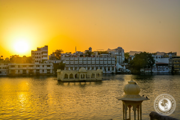 sunset Udaipur India