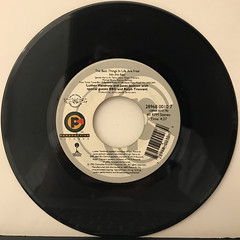 LUTHER VANDROSS AND JANET JACKSON:THE BEST THINGS IN LIFE ARE FREE(RECORD SIDE-B)