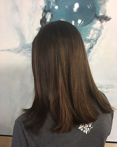 #Bombshell #brunette by Whitney @hairbywhit901 #goldwellappovedus
