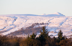 Snow on the Campsie Fells