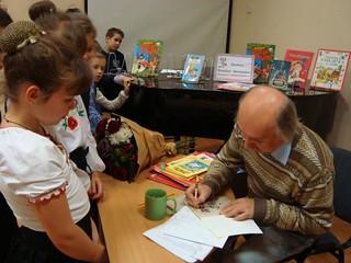 Зустріч з Михайлом Прудником. 08.11.17. ім. К. Чуковського