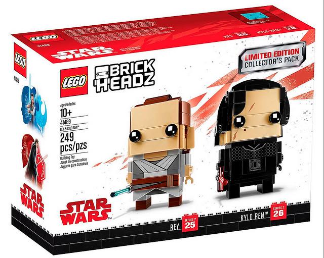 難道是Target 獨賣限定款?!LEGO 41489 BrickHeadz 系列 星際大戰【芮&凱羅·忍 組合包】Rey and Kylo Ren Collector's Pack