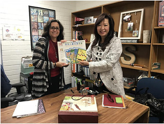 November 06 '17 CISDSU Visits Fletcher Elementary School