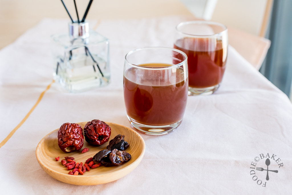 Red Date Longan Tea with Goji Berries