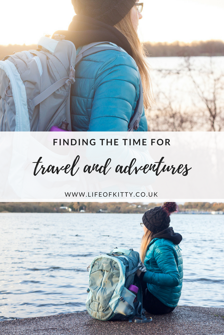 Finding the Time for Travel and Adventure | awaywithkatie.com