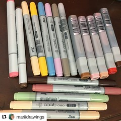 #Repost @mariidrawings ・・・ HAULL - I've been waiting SO LONG for the markers and refills (ft a few steadler products from local store) and I'm so happy that they are here thanks @otakufuel - - tags: #fuelforyourpassion #arthaul #copic #copicciao #copicske