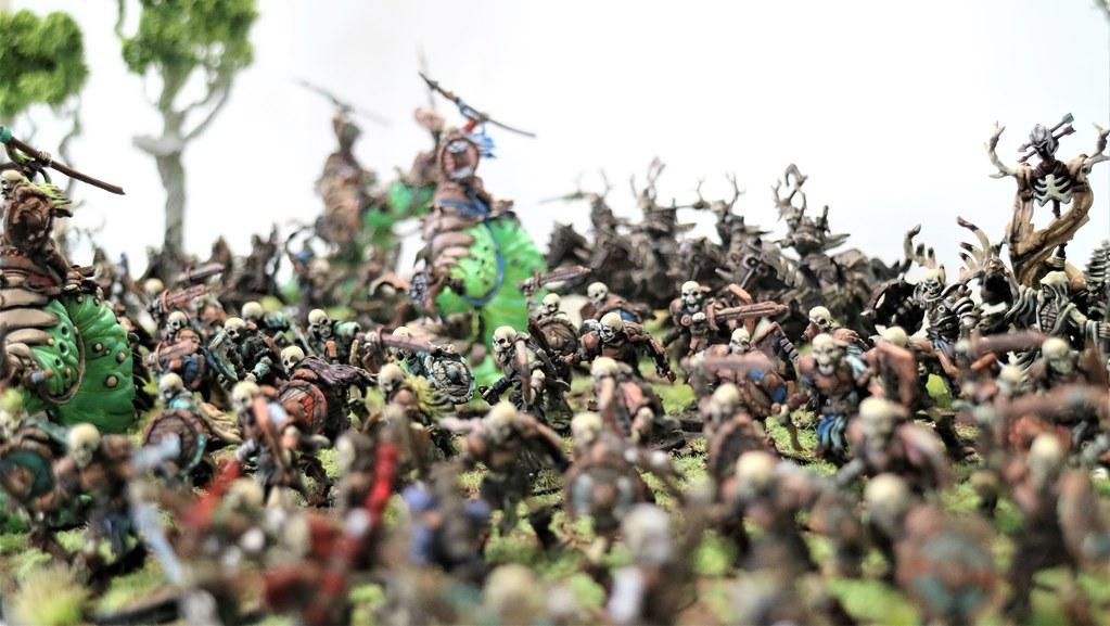 Runewars Miniatures Waiqar Horde
