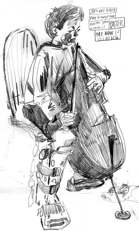 Sketchbook #108: Cello