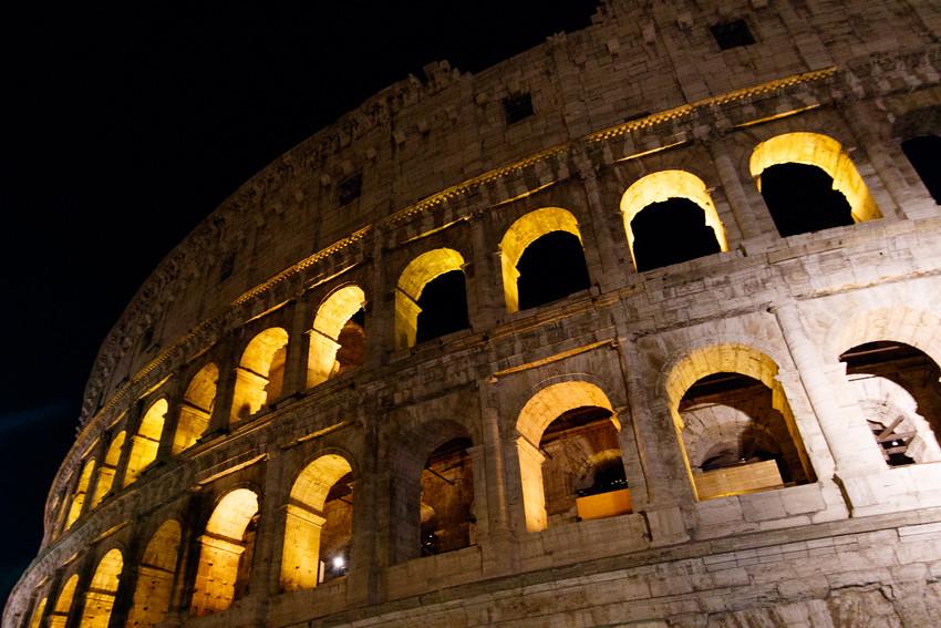 rooma colosseum forum romanum-1907