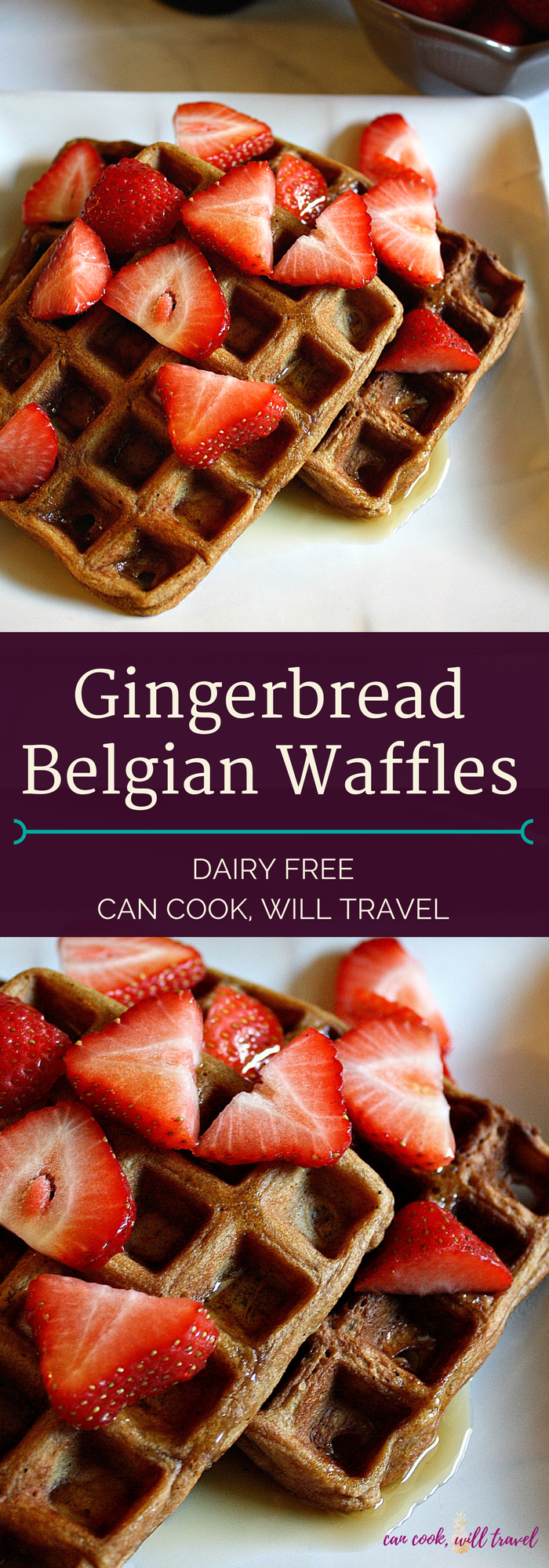 Gingerbread Belgian Waffles_Collage1