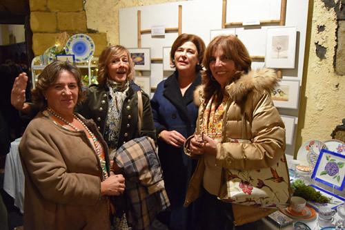Carlota Hormaechea, Beatriz Fuentecilla, Chiqui Pazos y Fabiola Sainz Aguirre