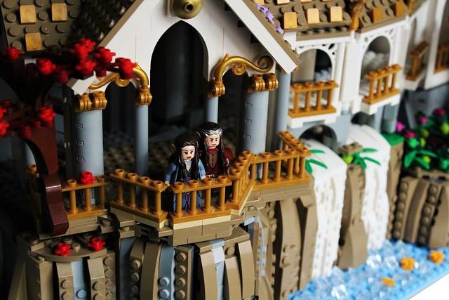 Arwen and Erlond at Rivendell