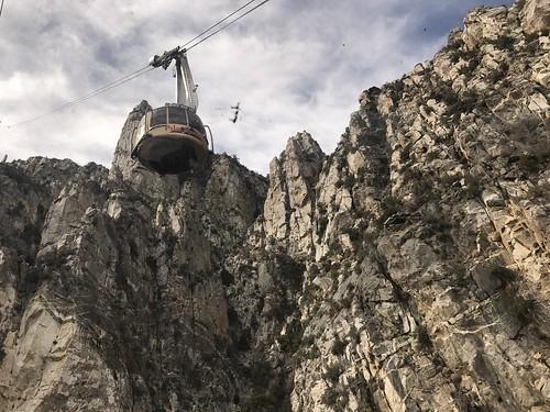 Elevation of San Jacinto Mountains, California, USA ...