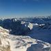 Pohled z nejvyšší hory Německa