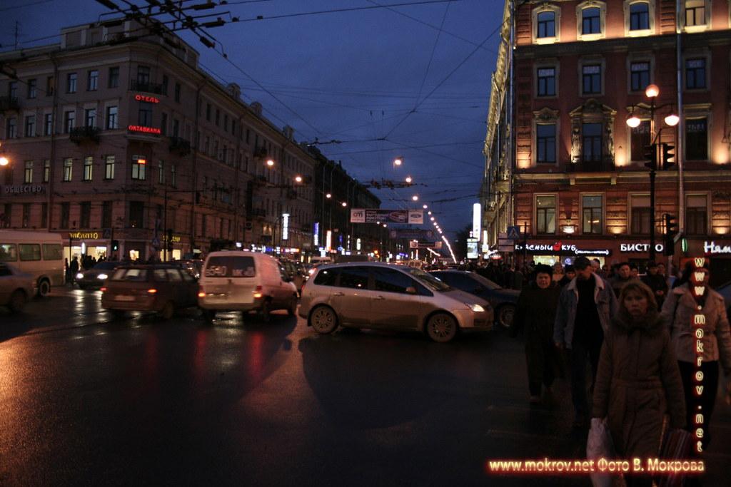 Санкт-Петербург фото Невского проспекта