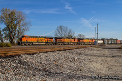 BNSF 7152 | GE ES44C4 | BNSF Thayer South Subdivision