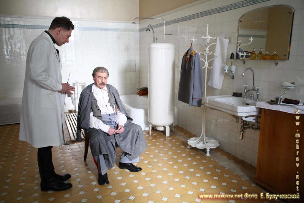 На съемках Художественный фильм «Товарищ Сталин» портфолио