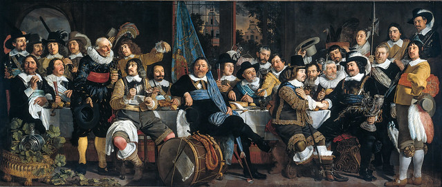 Banquet, Amsterdam Civic Guard, 1648