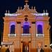 Igreja Matriz de Araras com as luzes de natal