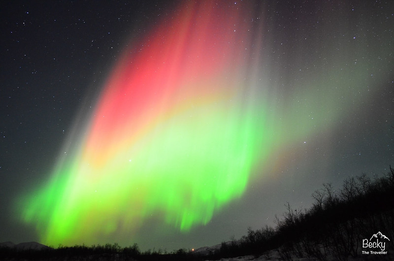 Best place to see the Northern Lights - Abisko National Park - Sweden