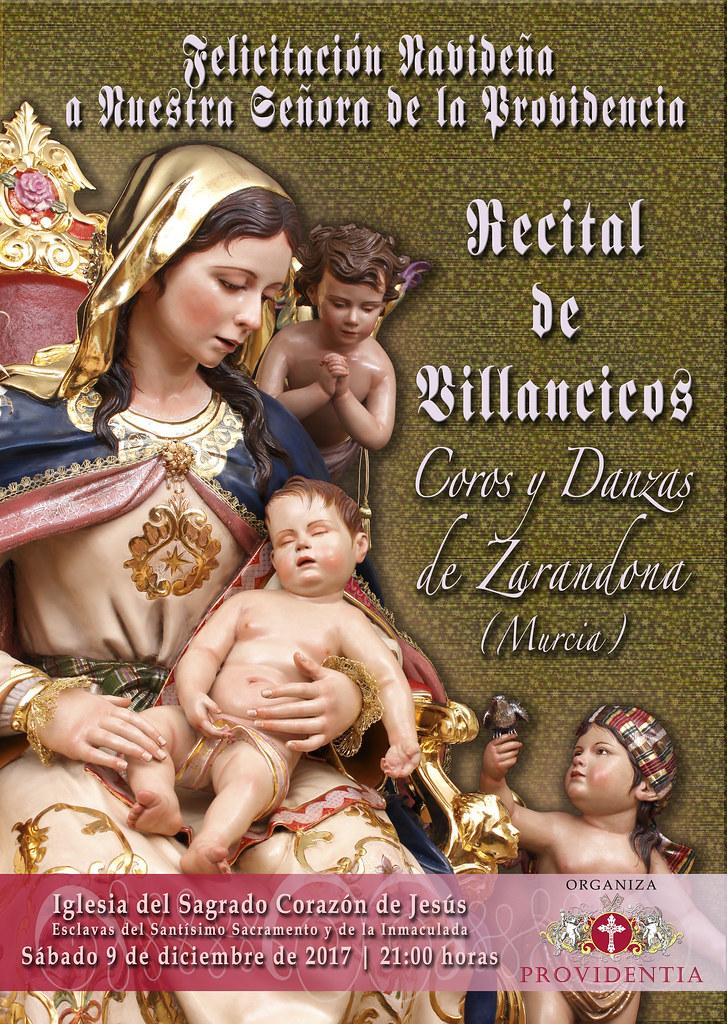 Cartel Recital de Villancicos Providencia