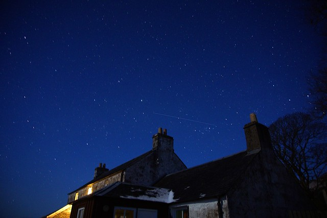 Up early to capture the night sky with a long exposure. Friggin' COLD! Kilbrennan, Isle of Mull, Scotland.